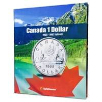 Vista Coin Album: Canada 1 Dollar, 1935 - 1967 (Silver)