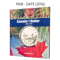 Vista Coin Album: Canada 1 Dollar, 1968 - Date