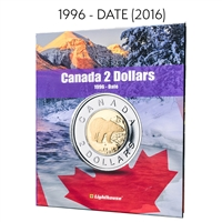 Vista Coin Album: Canada 2 Dollars, 1996 - Date