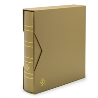 Classic NUMIS Album with Presentation Box - Metallic Gold