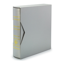 Classic NUMIS Album with Presentation Box - Metallic Silver