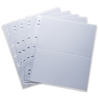 NUMIS NH2 Currency Sheets (5 pack)