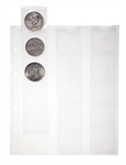 Optima Coin Sheets 42mm x 15 pockets