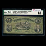 The Merchants Bank of Canada $10 1916  PMG F-15