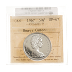 50 cent 1967 Heavy Cameo ICCS SP-67