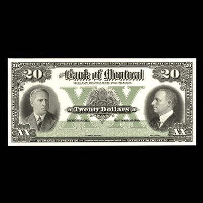 The Bank of Montreal $20 1938