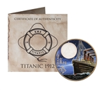 $2 2012 Coloured Bronze Coin - RMS Titanic at Night