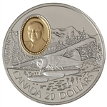 $20 1991 Silver Coin - de Havilland Beaver