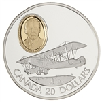 $20 1992 Silver Coin - Curtiss JN-4 (Canuck)