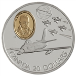 $20 1997 Silver Coin - Aviation F-86 Sabre
