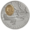 $20 1998 Silver Coin - CL-215 Waterbomber