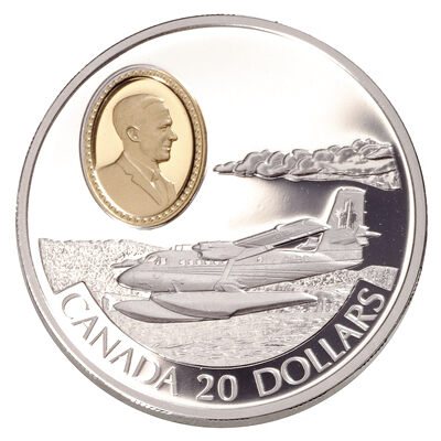 $20 1999 Silver Coin - Aviation DHC-6 Twin Otter