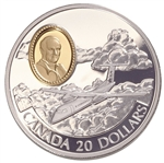 $20 1999 Silver Coin - Aviation DHC-8 Dash 8