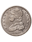 US 25 Cent 1833 Capped Bust, type 2 VF-20