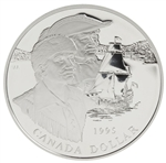 $1 1995 Proof Silver Coin - 325th Anniversary of the Hudson's Bay Company