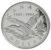 1997 $1 The One Dollar Loon, 10th Anniversary - Sterling Silver Proof Dollar