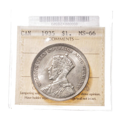 1 Dollar 1935  ICCS MS-66