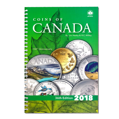 2018 Coins of Canada 36th Ed. - J.A. Haxby & R. C. Willey