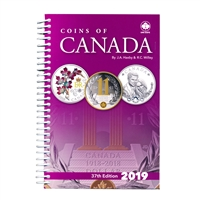 2019 Coins of Canada 37th Ed. - J.A. Haxby & R. C. Willey