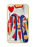 $15 2009 Playing Card Money Series - King of Hearts