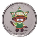 25c 2008 Vancouver 2010 Olympic Mascot - Sumi