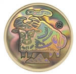 $150 2009 Lunar Hologram Coin - Year of the Ox