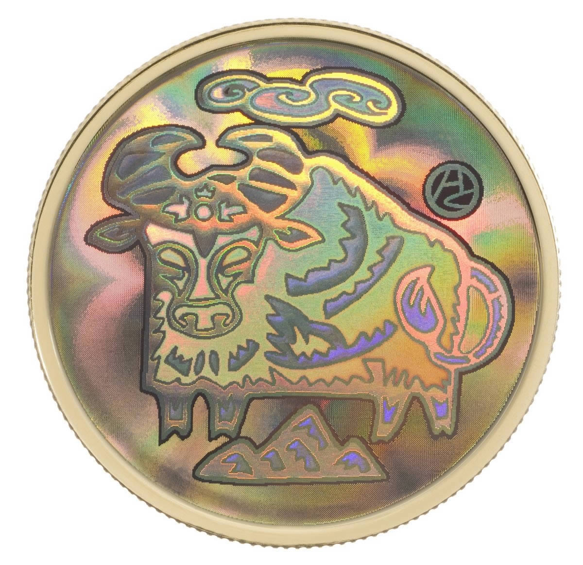 2009: $150 2009 Lunar Hologram Coin - Year Of The Ox