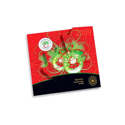 2009 Holiday Gift Set with Coloured 25 cent