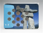 2007-2010 Circulation Coin Collector Card - Vancouver 2010 Olympic Winter Games - Inukshuk