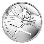 $1 2009 BU Silver Dollar - 100th Anniversary of Flight in Canada