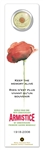 25c 2008 WWI 90th Anniversary - Armistice Bookmark