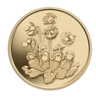 $350 2009 Pure Gold Coin - Pitcher Plant