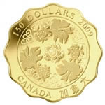 $150 2009 Fine Gold Coin - Blessings of Wealth