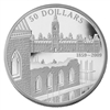 $50 2009 5oz Fine Silver Coin - 150th Anniversary of the Start of the Construction of the Parliament Buildings