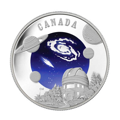 $30 2009 Sterling Silver Coin - International Year of Astronomy