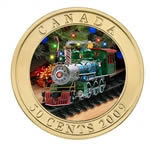 50c 2009 Coin - Holiday Toy Train