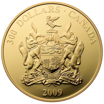 2009 $300 PEI: Provincial Coat of Arms