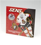 50c 2010 Ottawa Senators Official 2009-2010 Limited Edition NHL Coin