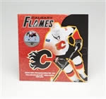 50c 2010 Calgary Flames Official 2009-2010 Limited Edition NHL Coin