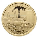 $200 2010 Gold Coin - Petroliumand Oil Trade