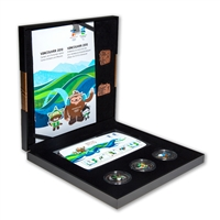 Vancouver 2010 Winter Games Sports Set, Bronze Collector Set