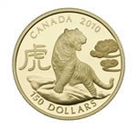 $150 2010 Gold Coin - Year of the Tiger