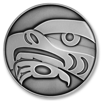 2010 $250 Fine Silver Coin - Olympic Winter Games: The Eagle