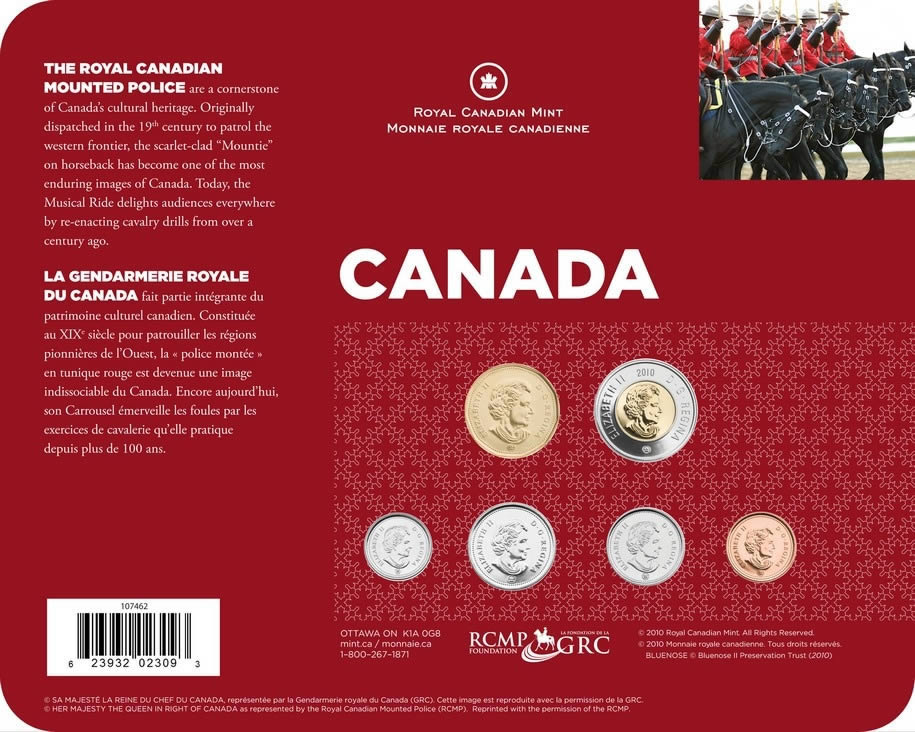CANADIAN MINT COLLECTOR CARDS
