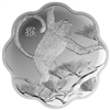 2016 $15 Lunar Lotus Year of the Monkey - Pure Silver Coin