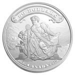 $50 2010 Fine Silver Coin - 75th Anniversary of the First Bank Notes Issued by the Bank of Canada