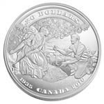 $20 2010 Fine Silver Coin - 75th Anniversary of the First Bank Notes Issued By The Bank of Canada