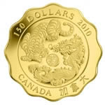 $150 2010 Pure Gold Coin - Blessings of Strength