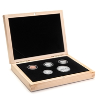 2010 Limited Edition Proof Set - 75th Anniversary of Canada's Voyageur Silver Dollar