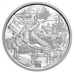 $250 2010 Silver Kilo Coin - 125th Anniversary of Banff National park